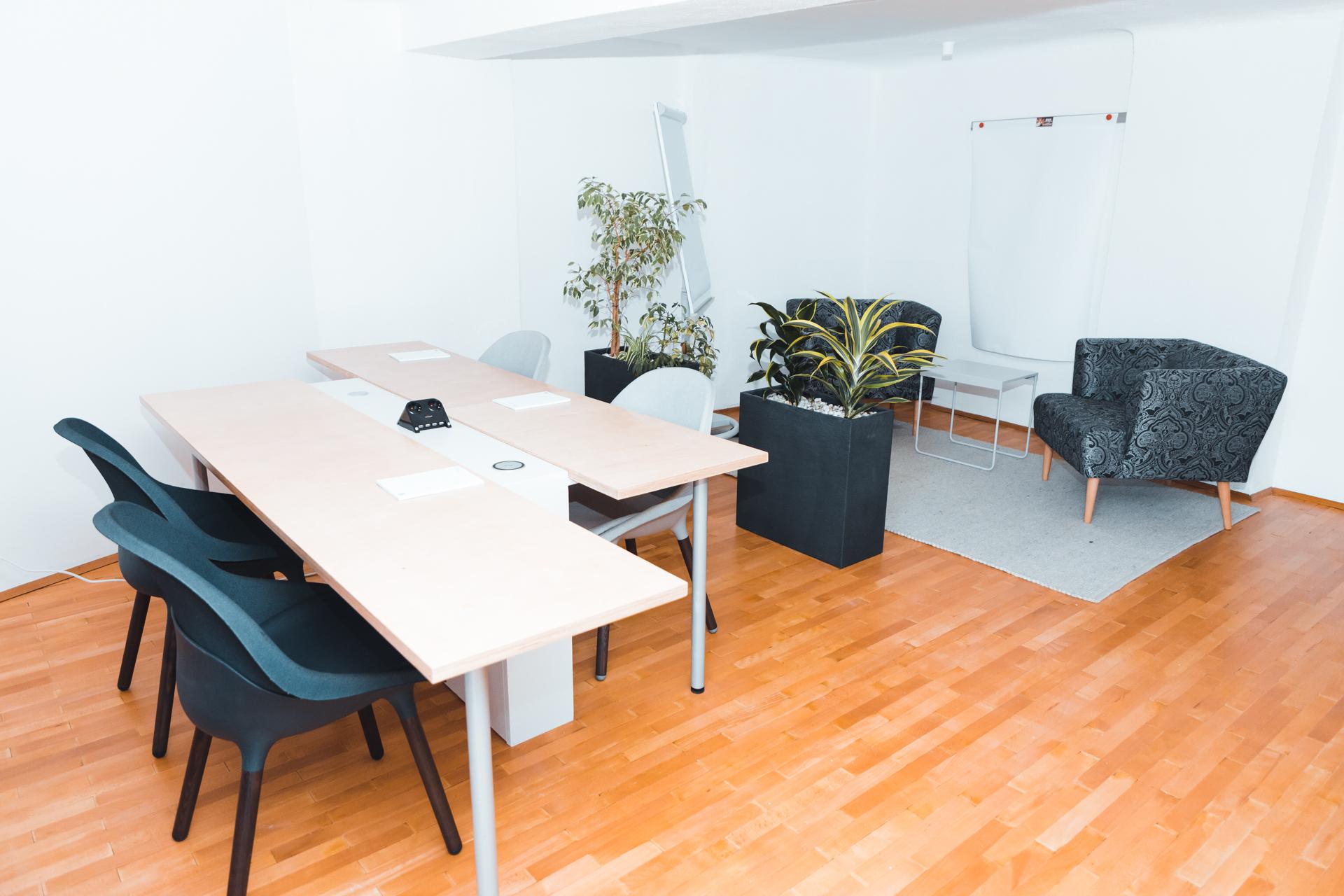 andys.cc: Impression aus dem neuen Coworking-Space in Klosterneuburg