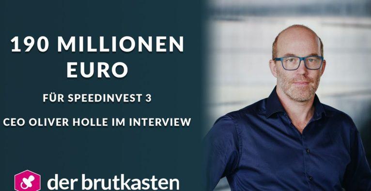Oliver Holle im Video-Talk zum Speedinvest 3-Closing