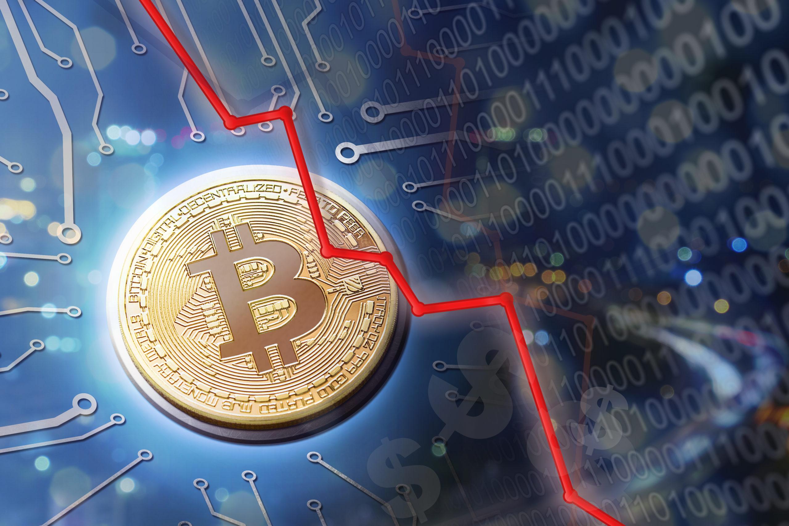 Warum ist der Bitcoin, also stark gefallen