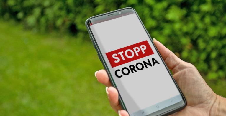 Stopp Corona-App - Rotes Kreuz uniqa Accenture