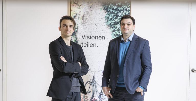 Christian Weber (l.) und Patrick Ratheiser. von LKeftshift One.