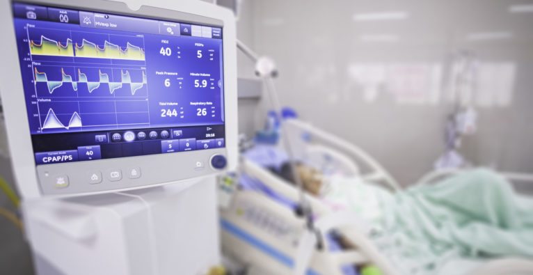 Coronavirus-Kurve in Österreich - Intensiv-Betten