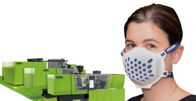 Engel und Haidlmair - die zwei Hidden Champions aus Oberösterreich ermöglichen Unternehmen, schnell auf Mehrweg-Schutzmasken umzusteigen
