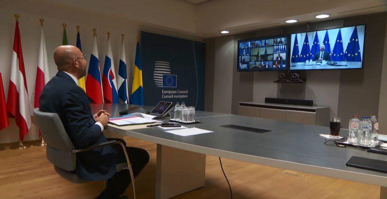 EU-Corona-Marshallplan - Disput über Wiederaufbaufonds (Recovery Fund) der EU in der Coronakrise