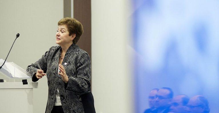 IWF-Chefin Kristalina Georgiewa - Einbruch in der Weltwirtschaft wegen Coronakrise