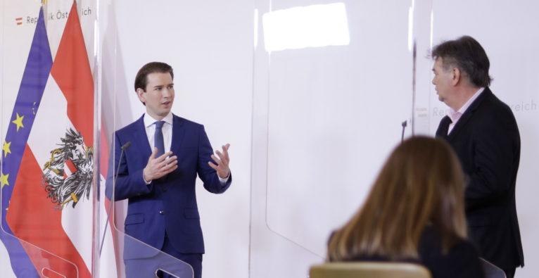 Bundeskanzler Sebastian Kurz und Vizekanzler Werner Kogler - So dürften Konjunkturpaket und Steuerreform für Österreich in der Coronakrise aussehen