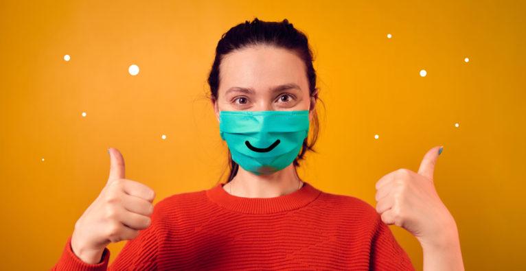 Körpersprache: Wie geht Kunden-Kommunikation mit Schutzmasken und ohne Lächeln?