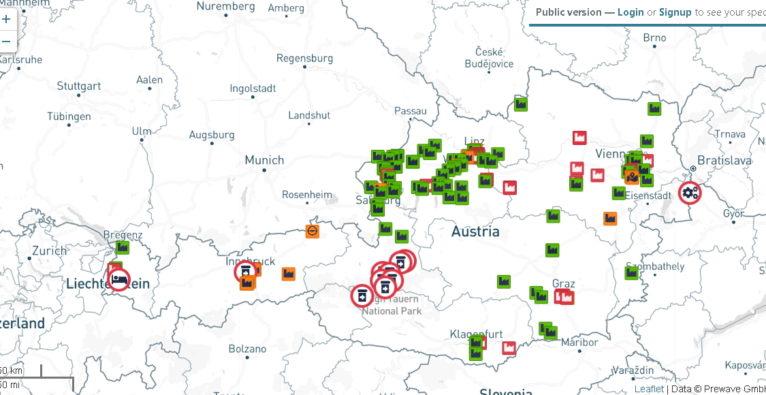 Prewave: Live-Karte von Wiener Startup zeigt Auswirkungen von Coronavirus auf Industrie und Logistik