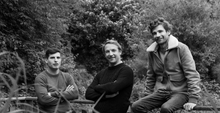 Back Market Gründer Quentin Le Brouster, Thibaud Hug de Larauze und Vianney Vaute