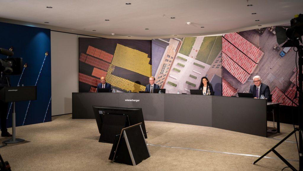 Die virtuelle Hauptversammlung von Wienerberger
