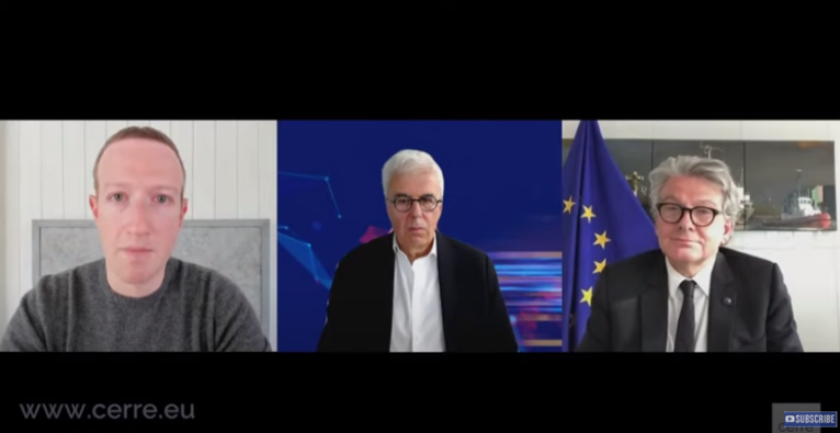 Facebook, Breton, Zuckerberg, Steuern
