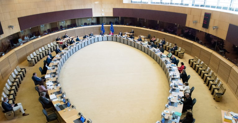 Sitzung der EU-Kommission zu Next Generation EU