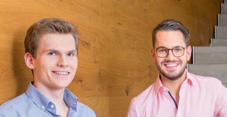 Die WizHub-Gründer Matthäus Konradsheim und Samuel Koch