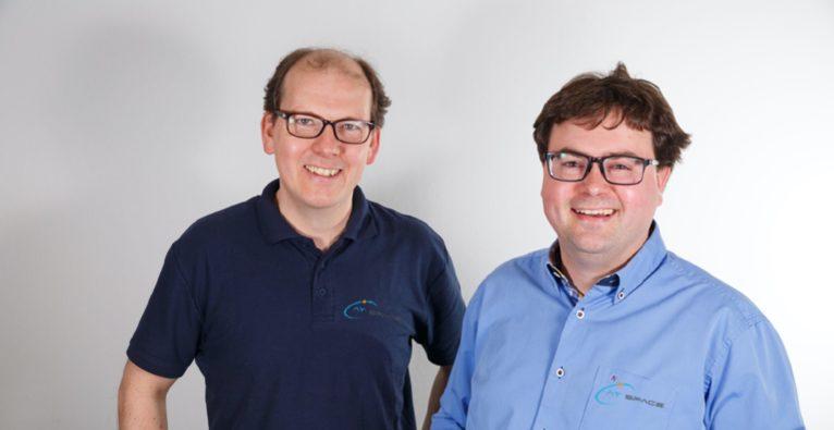 AT Space: Die Gründer Erwin Neubauer und Michael Kitzmantel