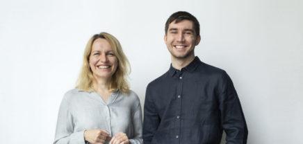 Robo Wunderkind: The co-founders Anna Iarotska and Yuri Levin