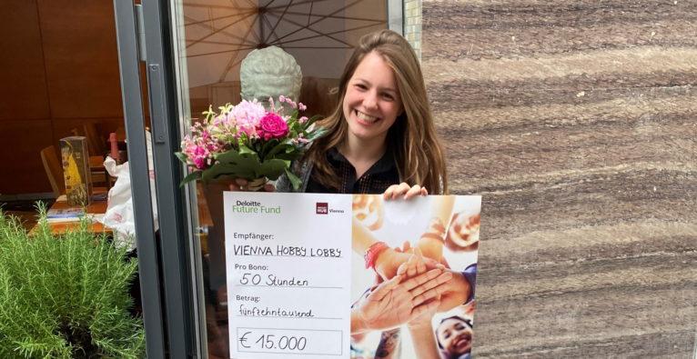 Vienna Hobby Lobby-Gründerin Rosa Bergmann überzeugte die found!-Jury