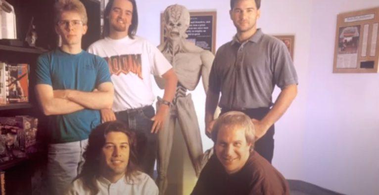 Das Gründungsteam von id Software (c) John Romero