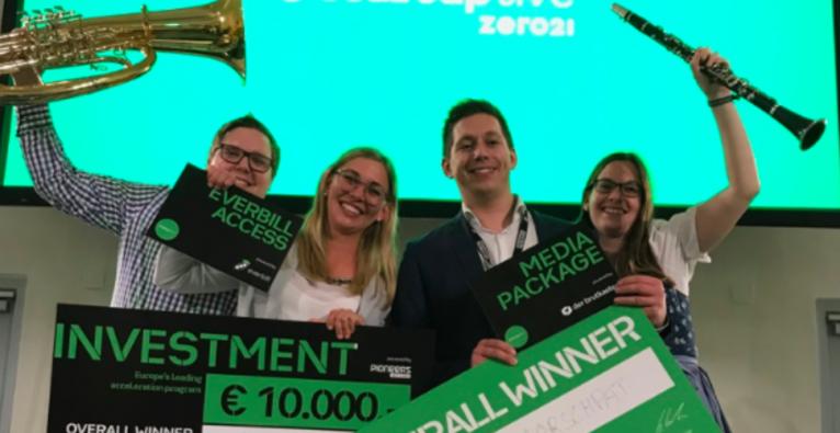 Markus Tröscher: Das Marschpat-Team gewann als Sieger bei Startup Live u.a. ein Investment von startup300