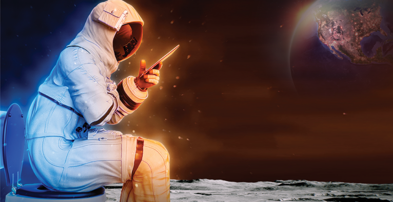 NASA: Lunar Loo Challenge - auf der Suche nach dem neuen Mond-Klo