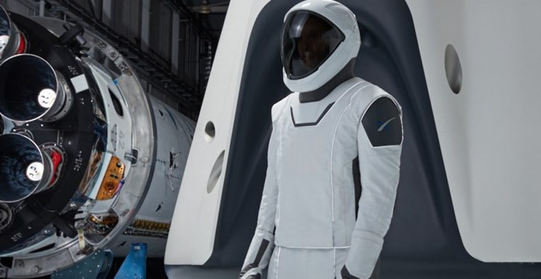 Space X, Dragon Space Suits, Elon Musk, All, Space, Dragon Crew