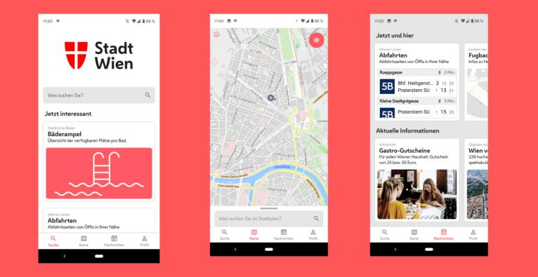 Stadt Wien App