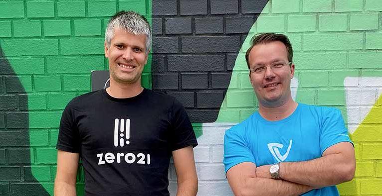 Michael Eisler, CEO der startup300 AG und Berthold Baurek-Karlic, Geschäftsführer der Dealmatrix GmbH und Gründer von Venionaire Capital © Venionaire Capital
