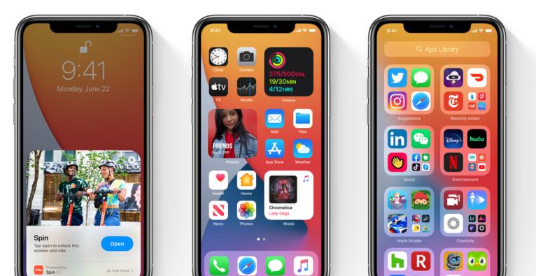 Das neue iOS 14 gibt es als Public Beta zum Download. (c) Apple
