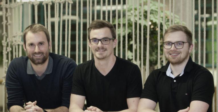musicbooking: Das Gründer-Team vlnr: Maximilian Rauch (CTO), Markus Kaar (CEO), Thomas Zöchling (CPO)