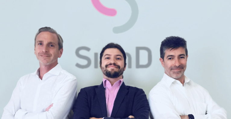 Das SignD-Kernteam Dieter Kindl (CCO), Bernhard Reiterer (Gründer & CEO) und Lisandro Aguilar (COO)