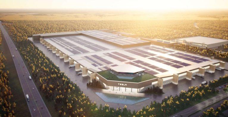 So soll die neue Tesla-Gigafactory in Berlin aussehen
