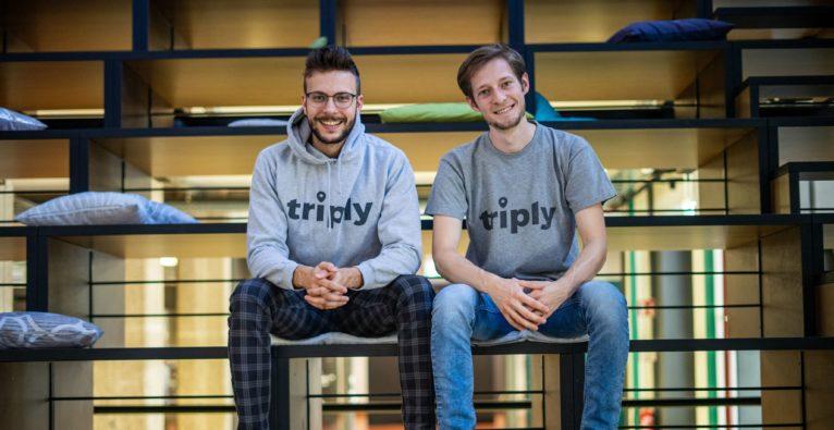 Die triply-Founder Sebastian Tanzer und Christopher Steinmüller (c) triply