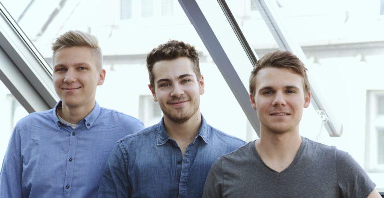 vego.tech: Die Gründer Florian Fazekas, Marian Hildebrand und Lukas