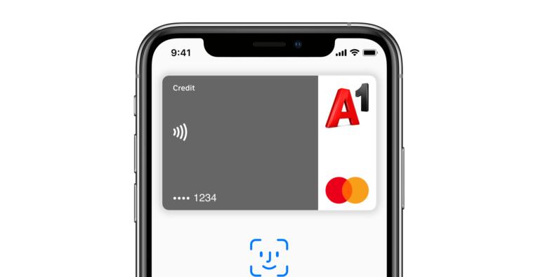 A1 Mastercard kann jetzt Apple Pay
