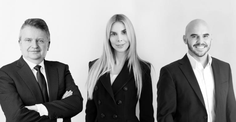 Seasonax: Das Founder/Gesellschafter-Team (vlnr.): Dimitri Speck, Tea Muratovic und Christoph Zenk