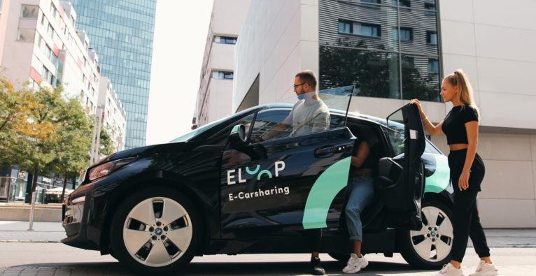 Eloop: Einer der vier BMW i3, die die Carsharing-Flotte gegenwärtig umfasst