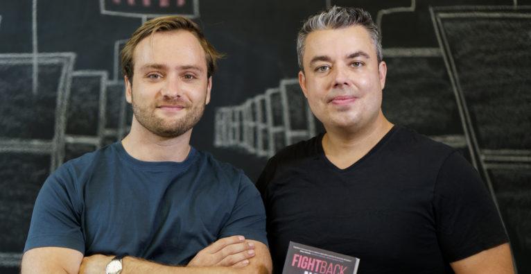 Felix Staeritz und Sven Jungmann, die Autoren von