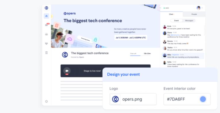 Tipps für virtuelle Konferenzen von Hopin
