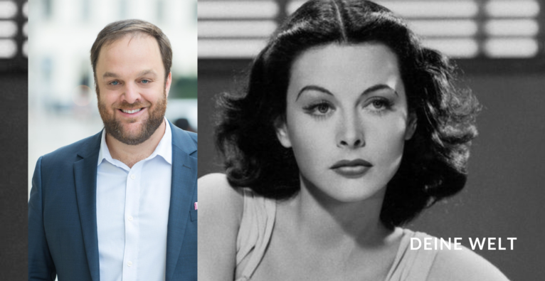 Hedy Lamarr und Mic Hirschbrich
