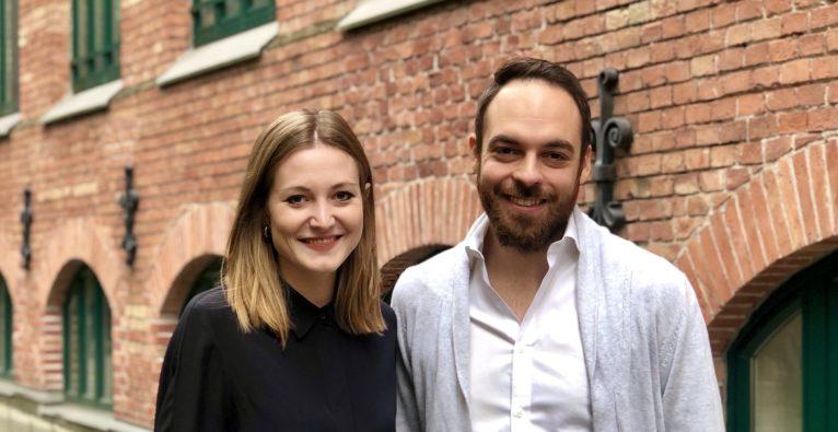 Grapevine-Mitgründerin Valerie Pretscher und Orderlion CEO Stefan Strohmer - © Orderlion