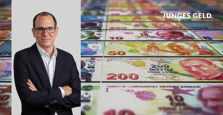 Mit seiner Politik trägt Recep Tayyip Erdoğan zur Entwertung der türkischen Lira bei.