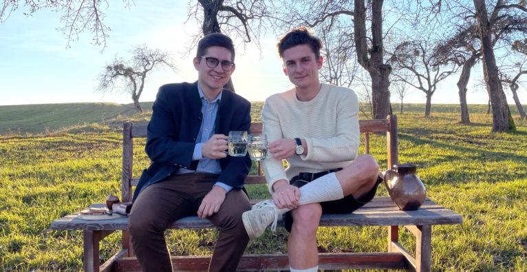 moizeit: Die Gründer Julian Priglinger und Benjamin Hammerschmid