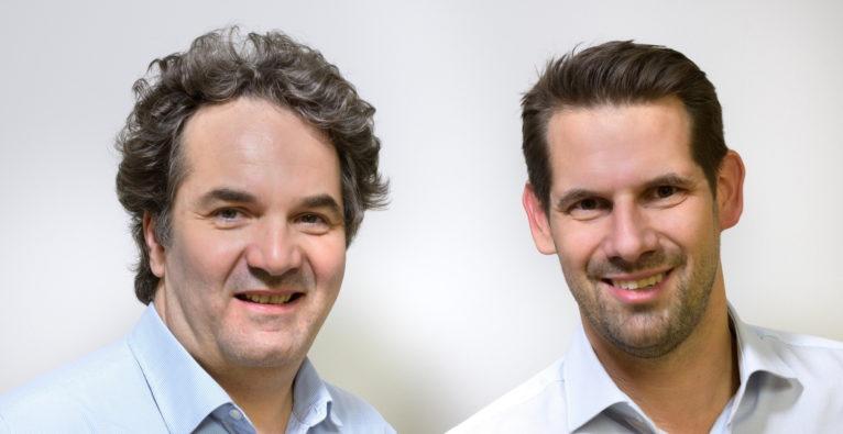 usePAT: Die Gründer Stefan Radel, und Georg Heinz