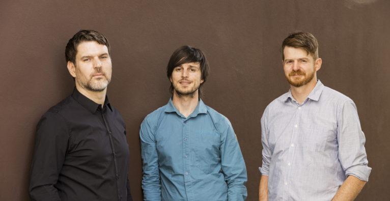 Die Zemtu-Gründer Philipp Metzler, Dominik Bartenstein und Roland Kainbacher
