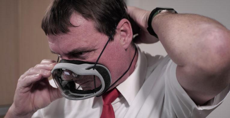 Edera Safety: Die ÖBB testen die transparente Maske aus der Steiermark