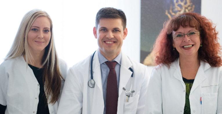 Permedio: Das Team hinter MediCheck rund um Stefan Wöhrer
