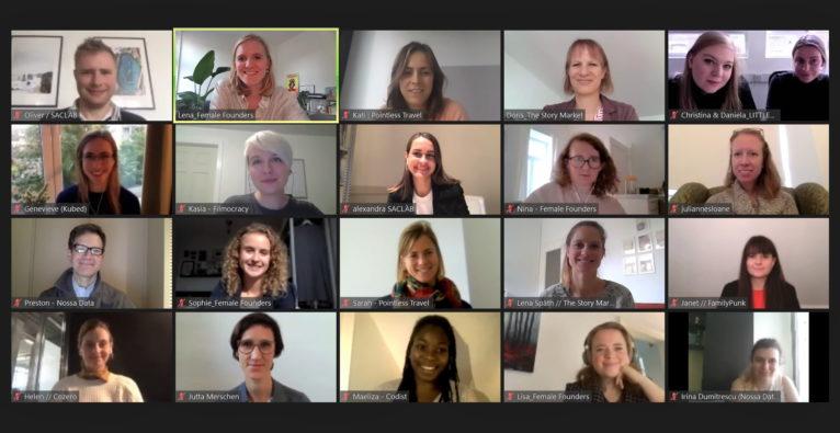 Female Founders: Die aktuellen Grow F-TeilnehmerInnen