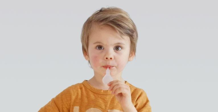 21med: Der Lollipop Covid-Schnelltest soll sich besonders gut für Kinder eignen