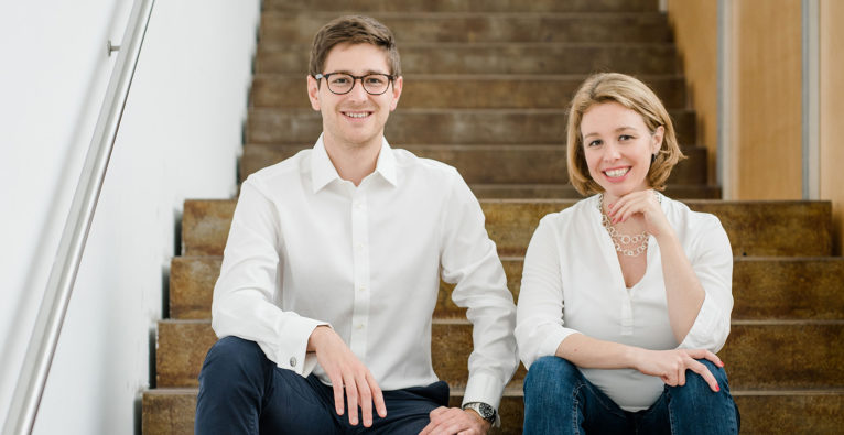 Nikolaus Gasche und Barbara Sladek haben myBioma gegründet und in Biome umbenannt © Biome/Eccli