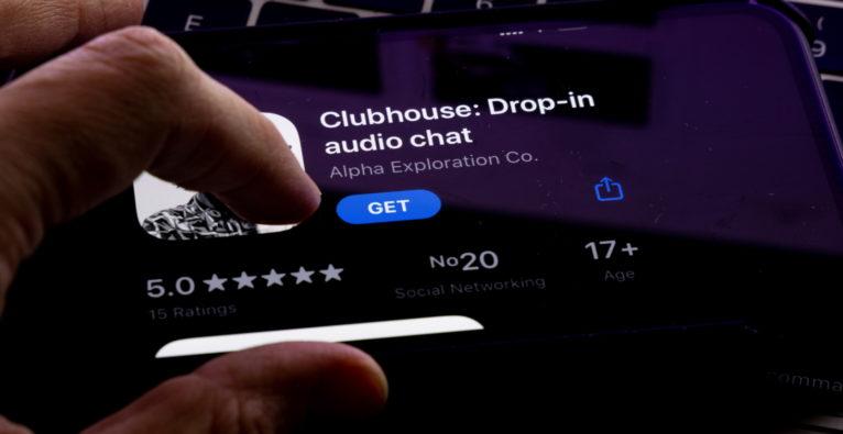 Bislang nur für iOS - doch die Pläne für eine Clubhouse-Android-App werden konkreter