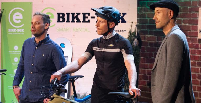 I Bike-Box, E Bike-Box, e Bike-Box, E Bike Box, eBikebox, EBike Box, 2 Minuten 2 Millionen,